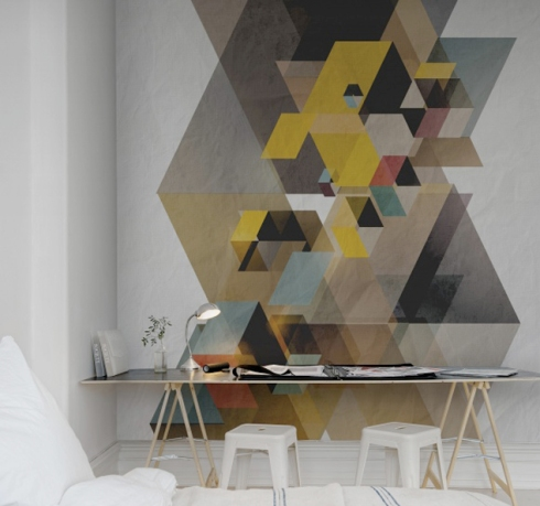 Rebellwalls Geometric walls