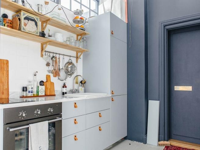 Apartamento azul  2